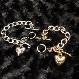 Pair - Juicy Couture Charm Bracelets